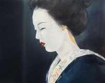 mirada de geisha