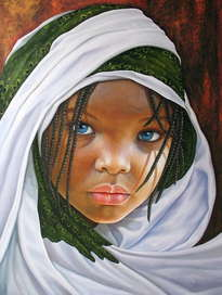 niña de africa 95