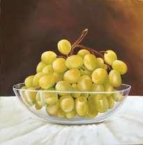 uvas en bowl
