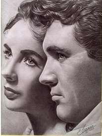 Elizabeth Taylor & Rock Hudson