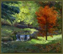 reflejos y color de otoño