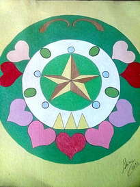 mandala .paz.amor.