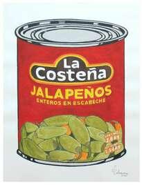 Lata de jalapeños (tributo a Andy Warhol)