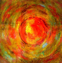 abstract sunset ligueri 2014