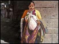 vendedora de telas