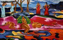 mahana no atua (día de dios) - gauguin