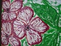 magenta flowere
