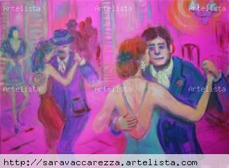 Al compás del tango - Sara María Vaccarezza Fariña - artelista.com