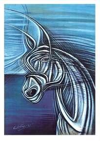 caballo nube