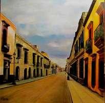 una calle del df - mexico