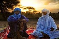 tuaregs al amanecer