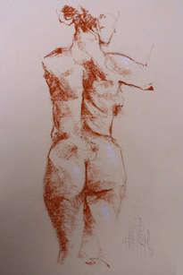 desnudo espalda femenino