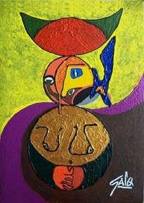 hno. oscar galo ( la figura picassiana mas famosa del mundol 60 x 83 cm ( precio us$ 10,000