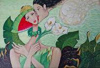 el beso del angel