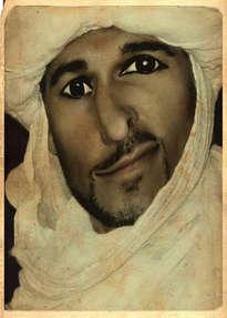 Tio Mauricio, en el Sahara