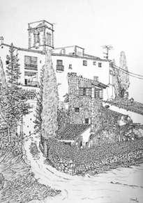 la iglesia de sant pere de ribes i