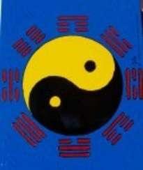 yang-yin con los trigamas