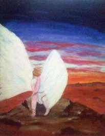 ángel triste