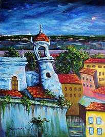 blue castle in my havana