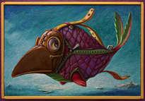 el lindo pez, doctor de la plaga  ( enmarcado )