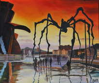 bilbao y su araña