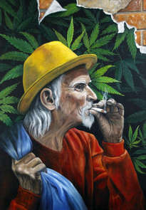 viejo fumador  -  old smoker