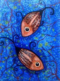 peces en casa