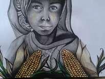 mujer del maiz