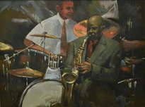 sesión de jazz