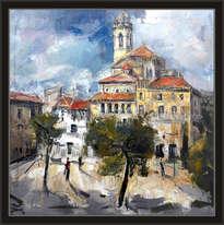 moiá-pintura-paisatjes-pueblos-iglesia-cuadros-paisatges-pintor-ernest descals