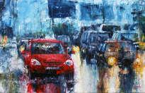 trafic rain