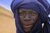 tuareg añil