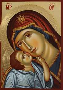 mother of god / madonna con el nino