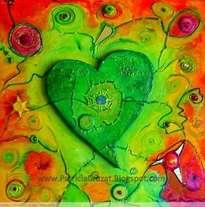 corazon verde
