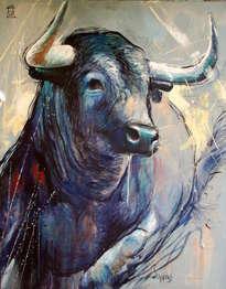 bull blue