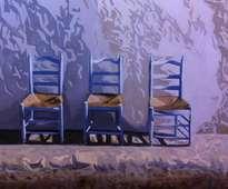tres sillas