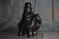 hombre a caballo botero