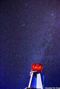faro de humanidad frente a las estrellas