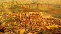 vista aérea de casco antigo