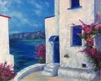 grecia azul