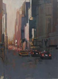 Anochecer en Manhattan