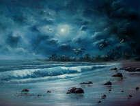 luna llena y marejada