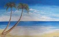 playa, mar y cielo