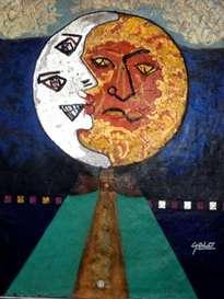 hno. oscar galo ( figura de eclipse 100 x 120 cm  ( precio us$ 15000