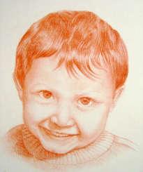 retrato de niño