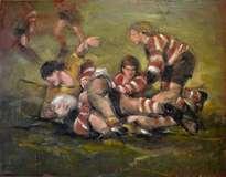 rugby en el fango