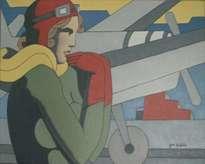 aviadora. homenaje a amelia earhart