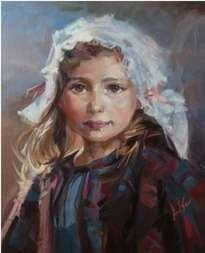 niña blanca