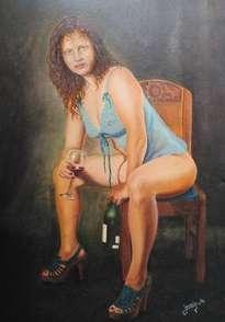 mujer bohemia