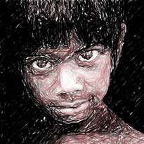 rostro niño de la calle 8